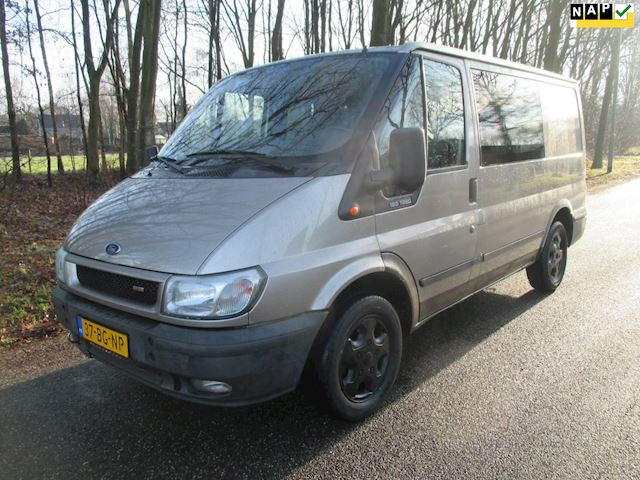Ford Transit 260S 2.0TDCi DC Cool 125PK, airco, dubbel cabine, trekhaak