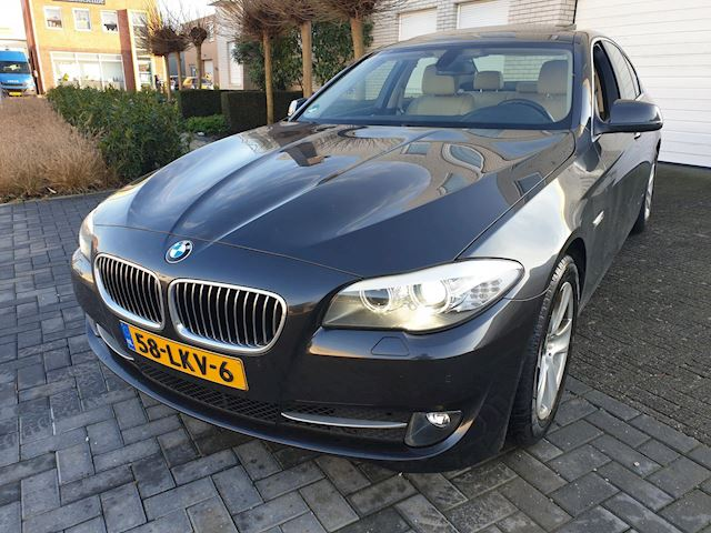 BMW 5-serie 523i High Executive Leder Navigatie Xenon Open Dak