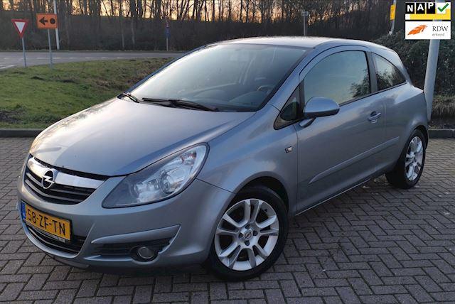 Opel Corsa 1.4-16V Sport 3D 2008 Grijs NAP*AIRCO*NWE.APK