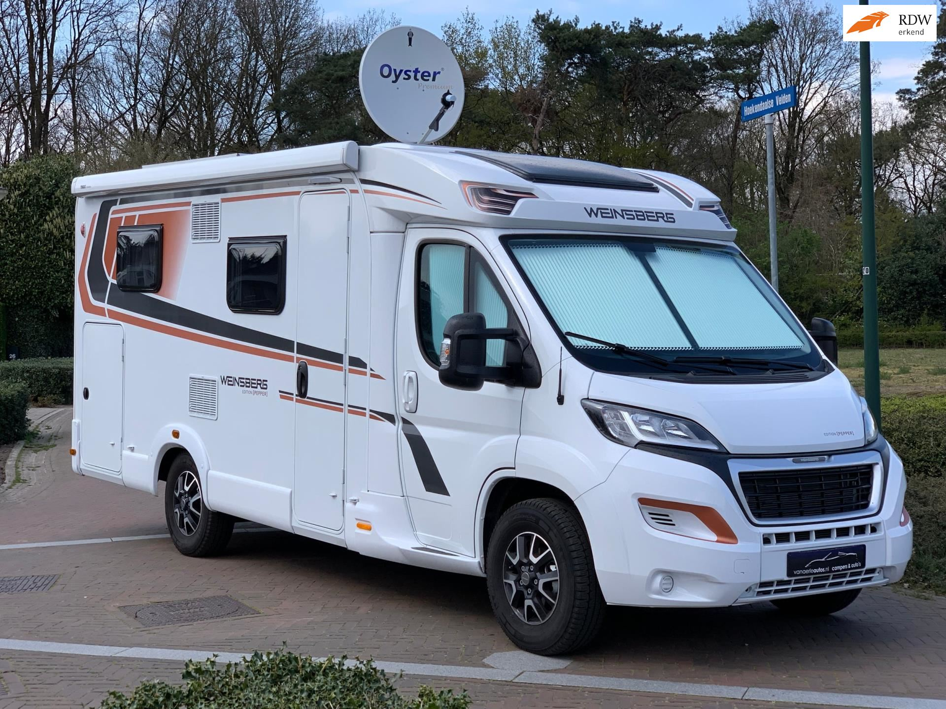 Knaus Weinsberg CaraCompact 600 MEG Pepper Edition occasion - Eric van Aerle Auto's