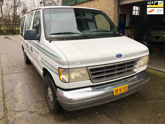 Ford E 150 Dubbel cabine LPG, rijdt goed