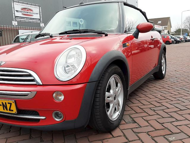 Mini Mini Cabrio 1.6 One Pepper |Leuke cabrio|Navi|