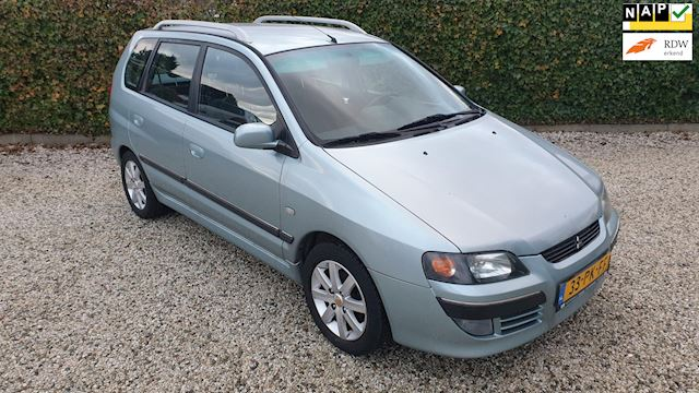 Mitsubishi Space Star 1.8 Instyle Silver Automaat/Airco