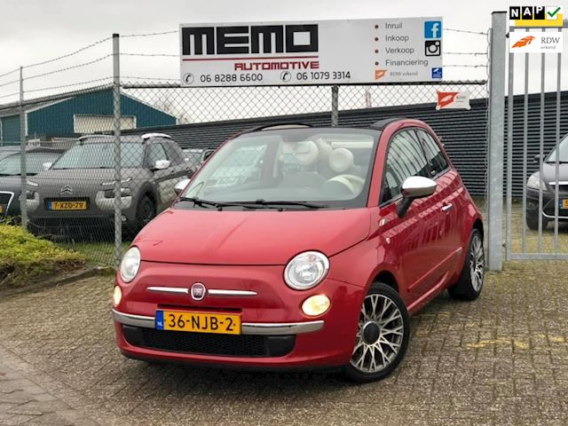 Fiat 500 C 1.2 Lounge *AUTOMAAT*Cabrio*Airco*NAP*