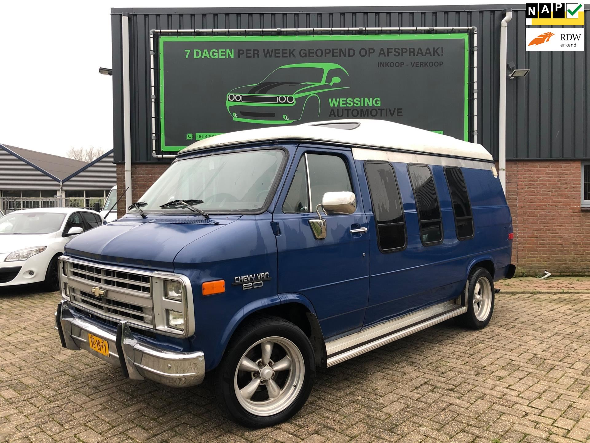 Chevrolet CHEVY VAN 20 DIESEL occasion - Wessing Automotive
