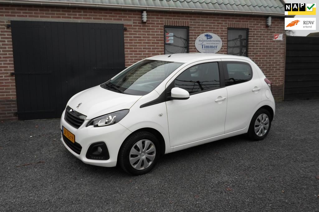 Peugeot 108 occasion - Timmer Auto's