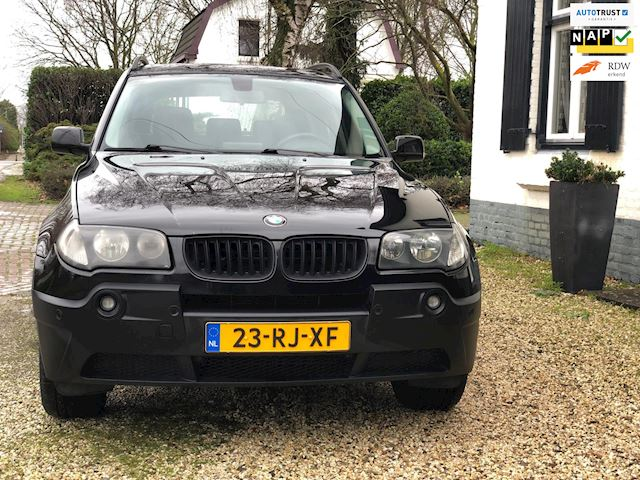 BMW X3 occasion - M.T.  Car's & Carcleaningcenter
