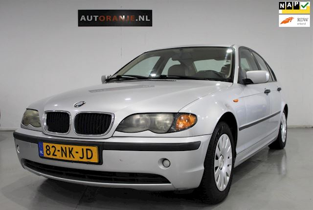 BMW 3-serie 318d Automaat, Airco, Cr Control, Leer, Nette Staat!