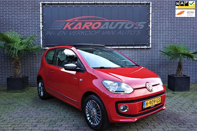 Volkswagen Up! 1.0 Eco BlueM CNG Gas Pano Navi Cruise 1e Eig