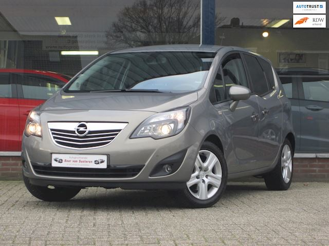 Opel Meriva 1.4 Turbo Color Edition 120PK! Leder/Stoel&stuurverwarming/Cruise/Airco ECC/PDC/! Nieuw!