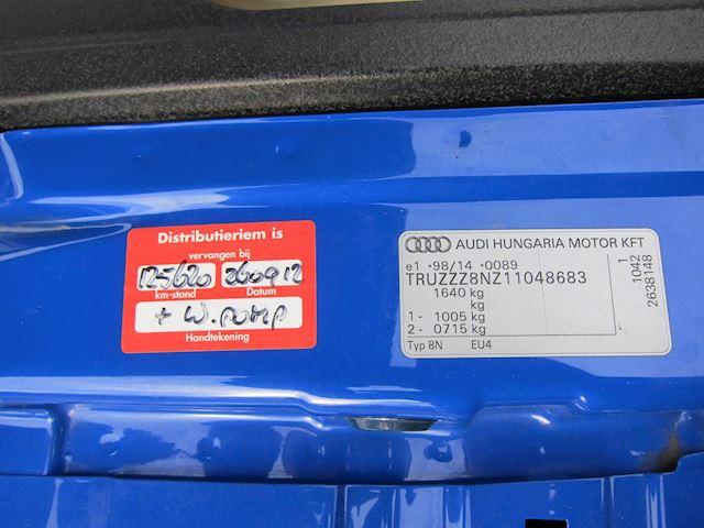 Audi TT Roadster 1.8 5V Turbo NOGARO BLUE PEARL LEDER UNIEKE COMBI 167000 KM!!