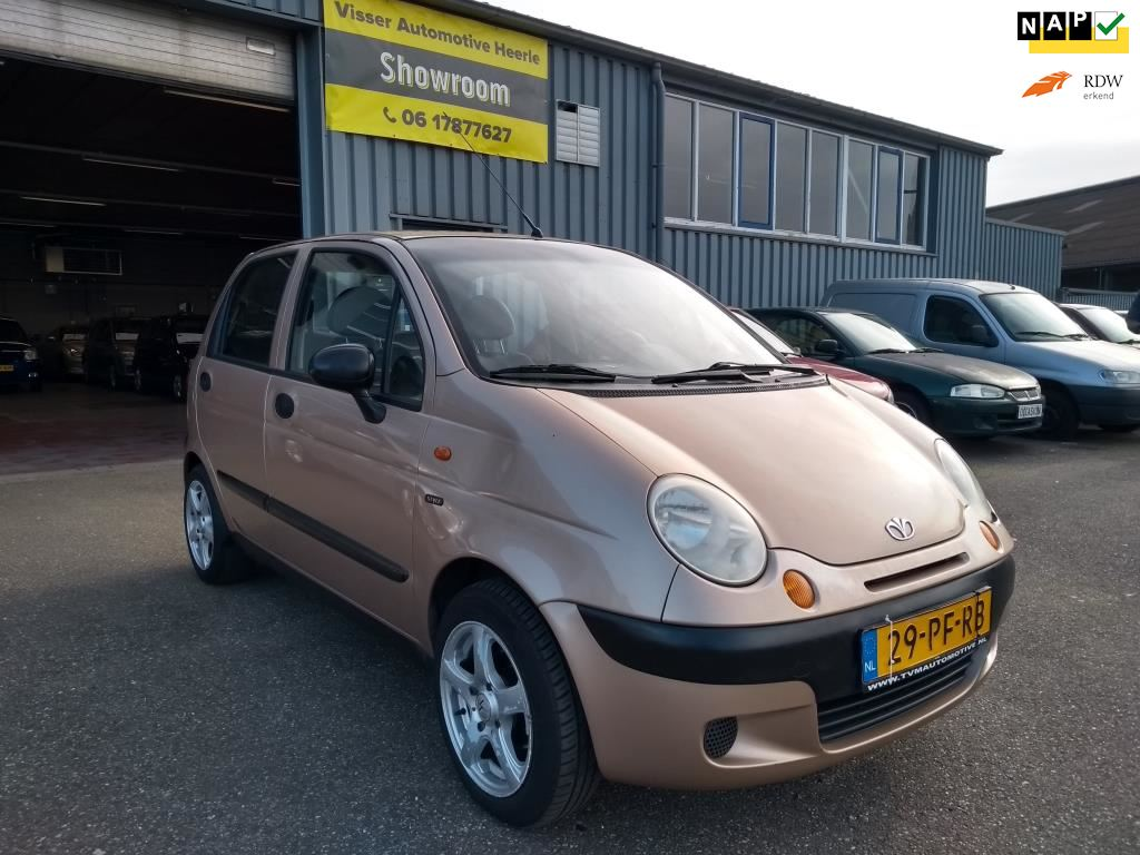Daewoo Matiz occasion - Visser Automotive Heerle