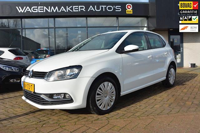 Volkswagen Polo 1.0 Comfortline Connected Series Airco NAVIGATIE Cruise Cdv 6 mnd BOVAG!