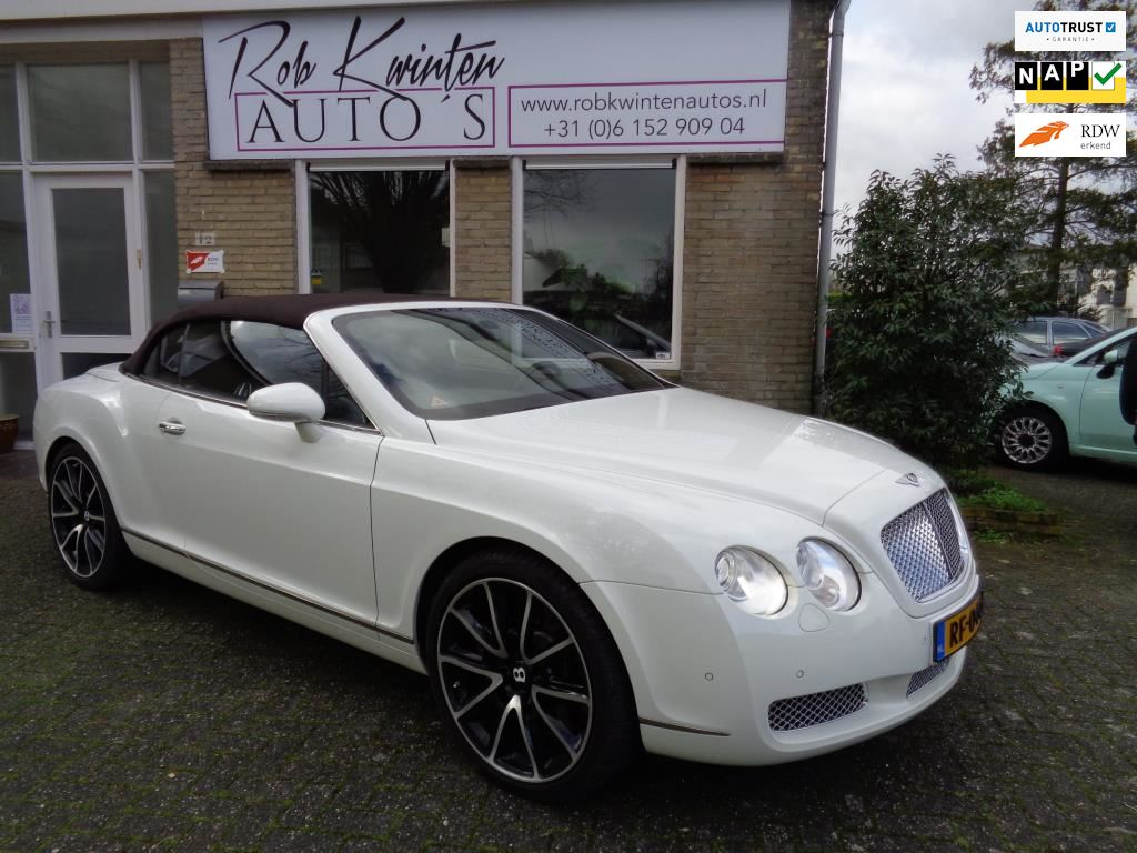 Bentley Continental GT occasion - Rob Kwinten Auto's
