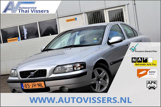 Volvo S60 5-CIL AUTOMAAT NL-auto 191.000KM Cruise PDC