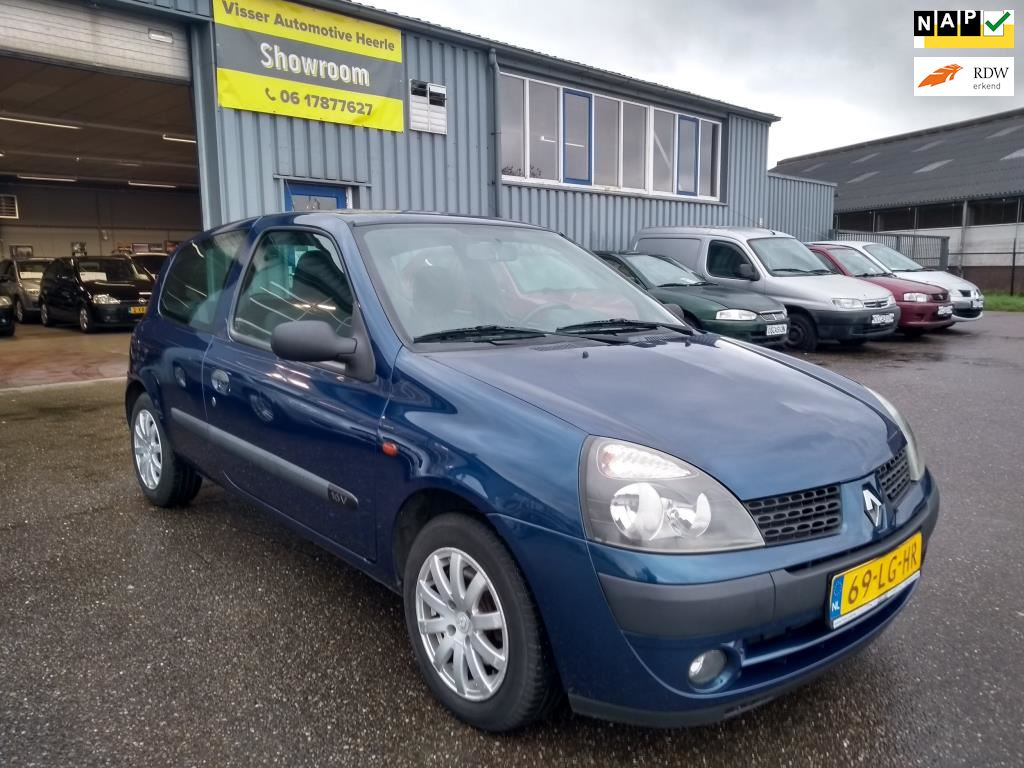 Renault Clio occasion - Visser Automotive Heerle