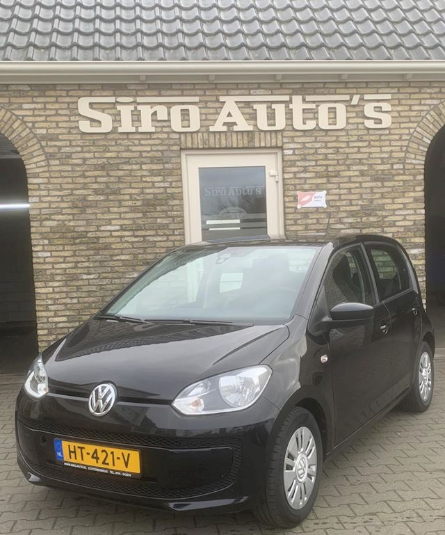 Volkswagen Up 1.0 move up BlueMotion Bj 2016 5 deurs navigatie