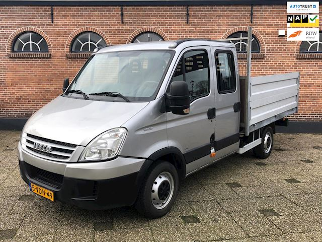 Iveco Daily 29 L 10 D 345 7 pers Btw Pick Up DC KIEPER!