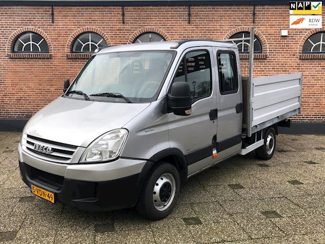 Iveco Daily 29 L 10 D 345 7 pers Btw Pick Up Dubbele Cabine
