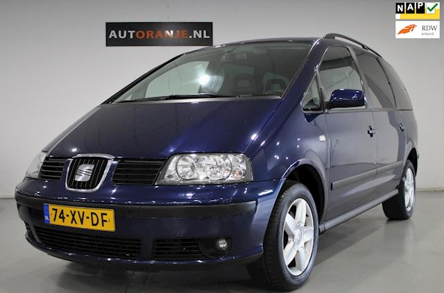 Seat Alhambra 2.0 Reference 7P, Cr Control, Airco, NAP, APK, Dealer Onderhouden!!