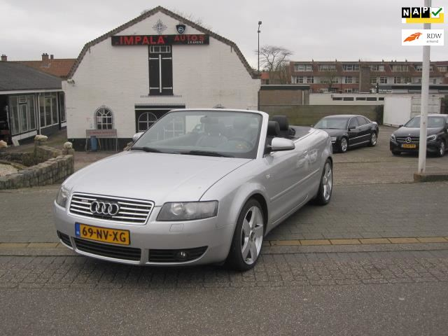 Audi A4 Cabriolet occasion - Impala Automotive