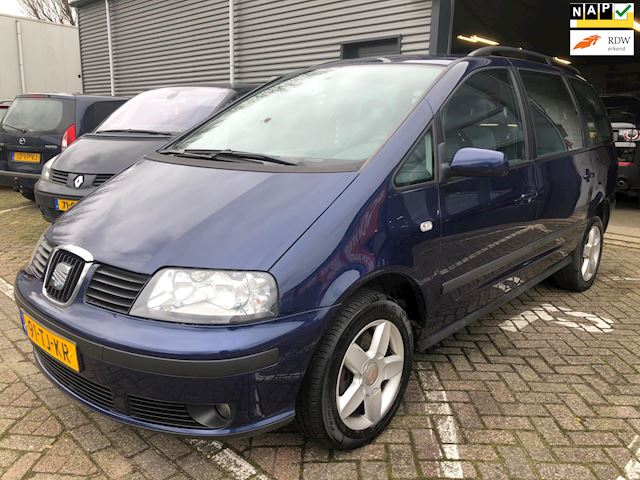 Seat Alhambra 2.0 Reference 7-persoons Climate controle cruise controle elec-ramen+spiegels Apk 04-11-2021