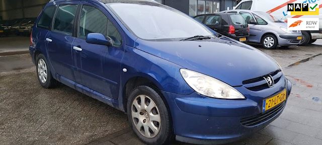 Peugeot 307 SW 7 persoons,AUTOMAAT, EXPORT