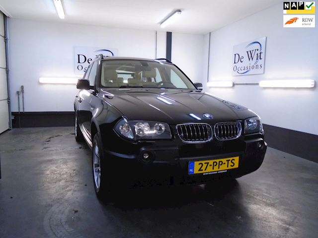 BMW X3 2.5i Executive AUT. incl. PANO. DAK/LEER /NAVI. !! in ZEER NETTE STAAT !!