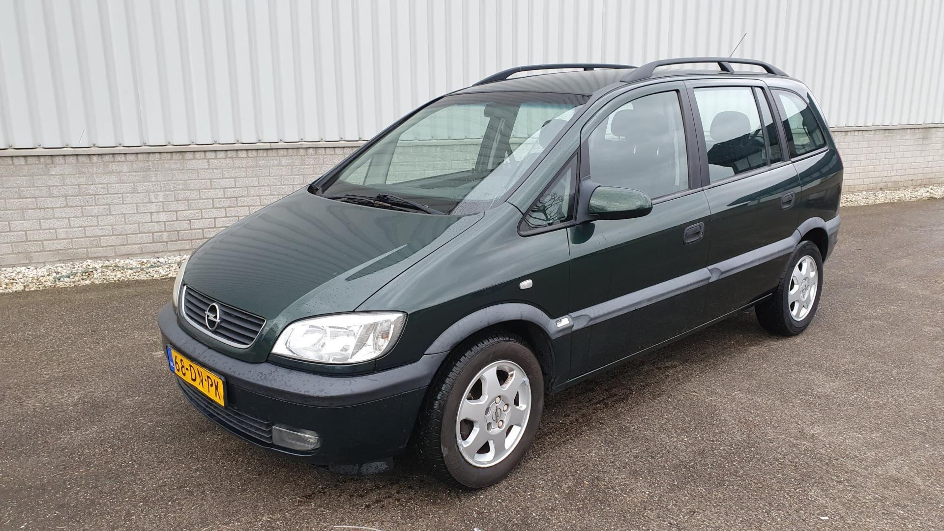 Opel Zafira occasion - Terborg Auto's