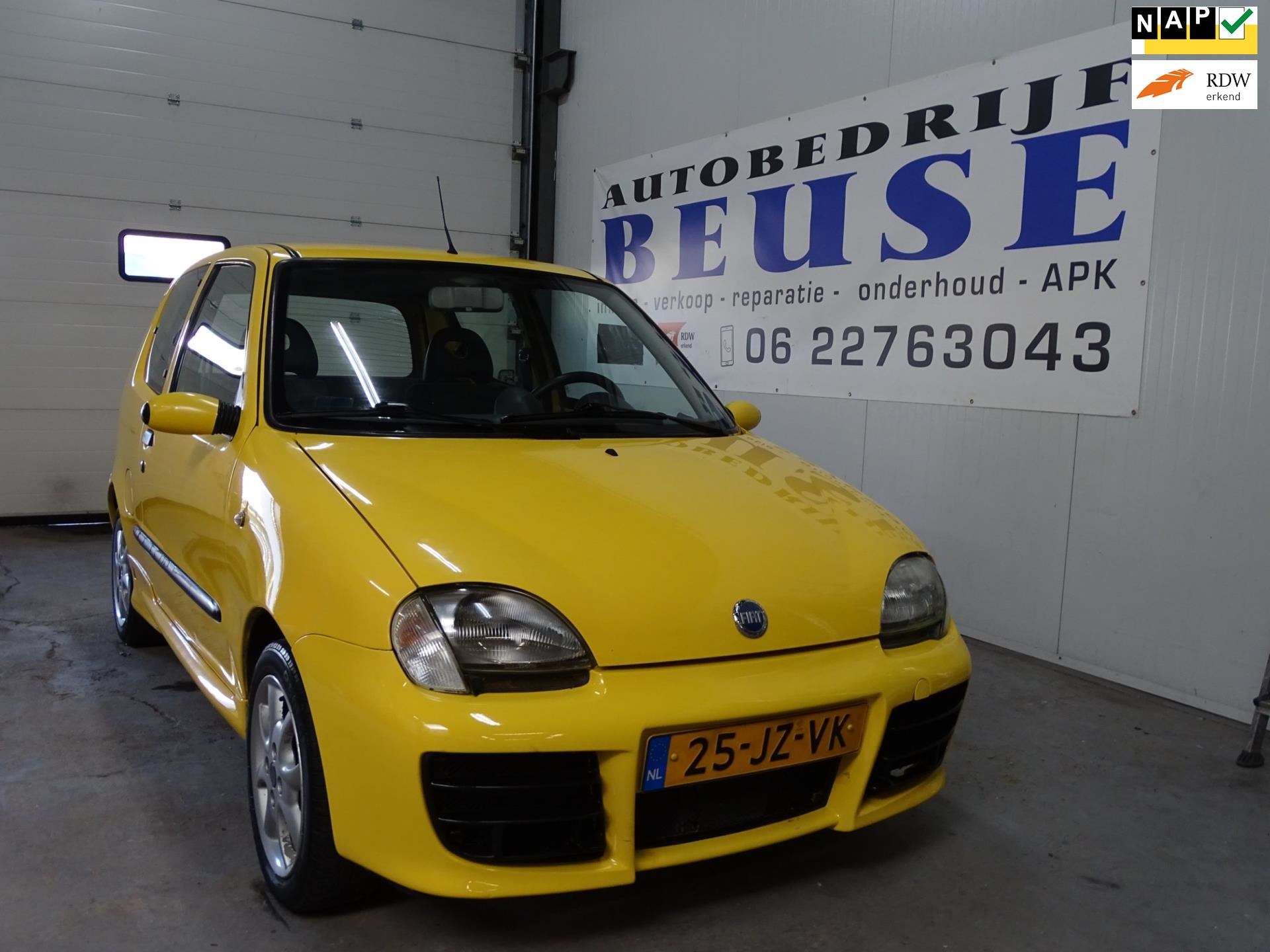 Fiat Seicento occasion - Beuse Auto's