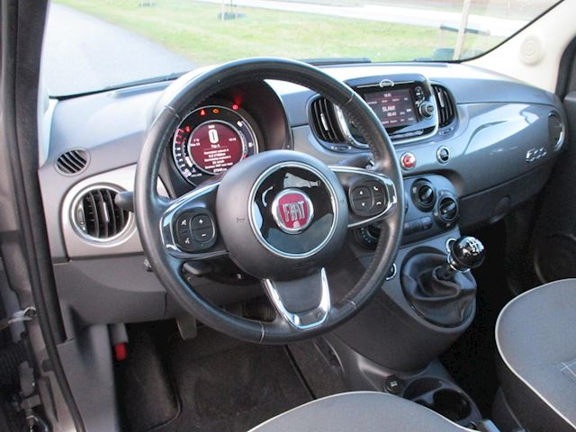 Fiat 500 1.2 Lounge Met Airco/Cr-control/Panoramdak/PDC