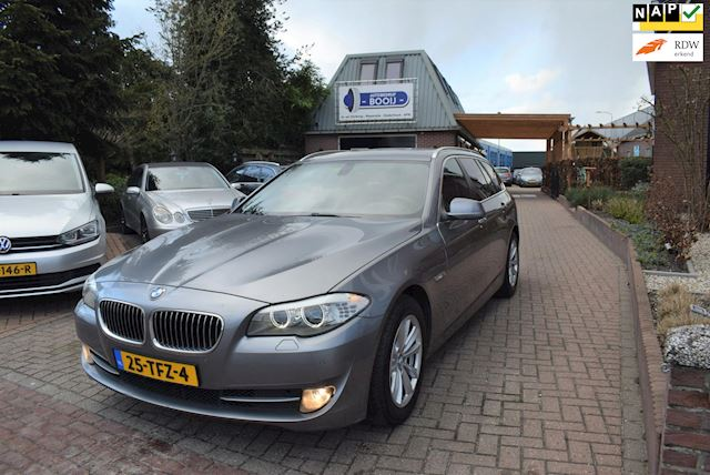 BMW 5-serie Touring 525xd High Executive AUTOMAAT/NAVI/LEER/XENON/PDC/TREKHAAK/NETTE STAAT!