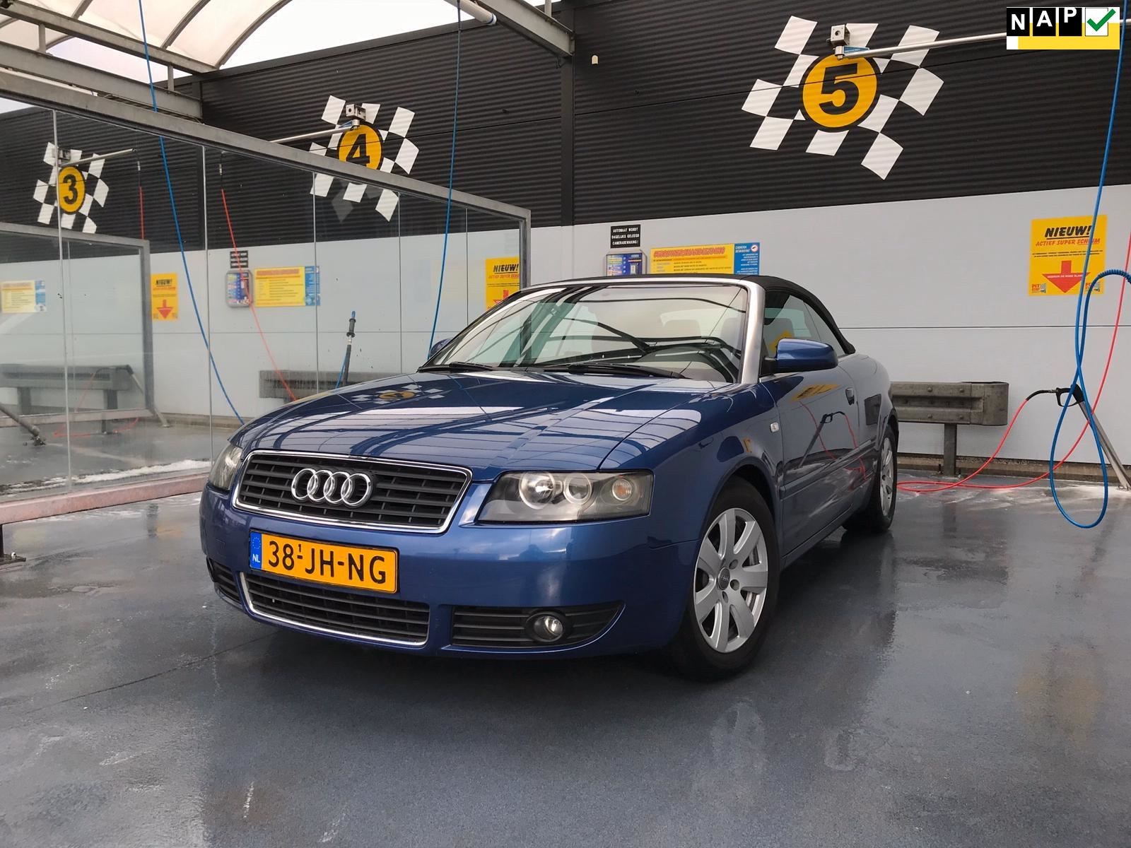 Audi A4 Cabriolet occasion - Pitstop Car Trading