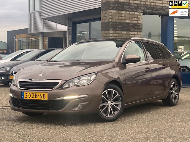 Peugeot 308 SW 1.6 BlueHDI Blue Lease Executive FULL-MAP NAVI ECC PANO LEER D-GLAS 2X CHROOM DVD SCHERMEN