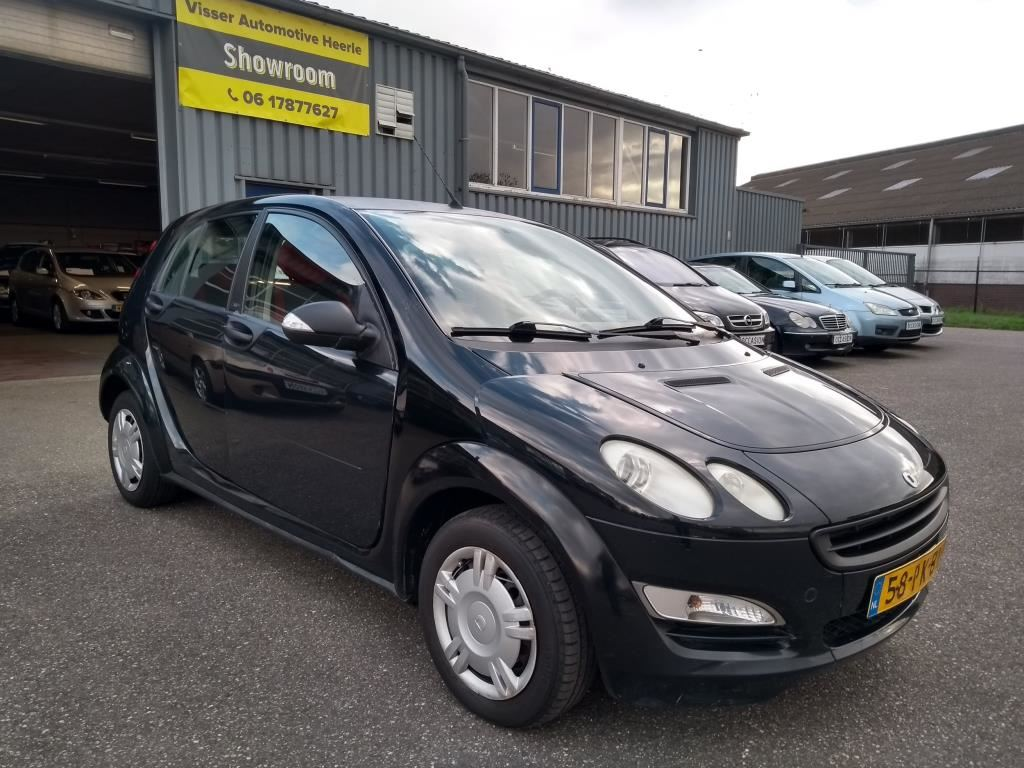 Smart Forfour occasion - Visser Automotive Heerle
