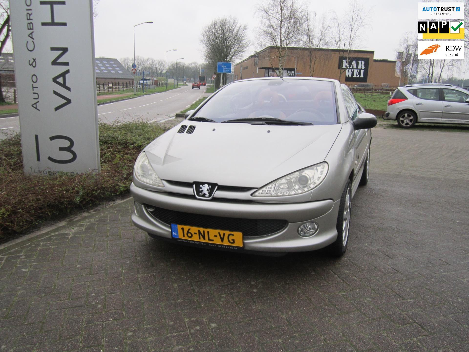 Peugeot 206 CC occasion - Auto en Cabriocentrum van Herk