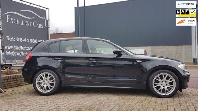 BMW 1-serie 120i High Executive Automaat Navi/Leder/PDC/116dkm