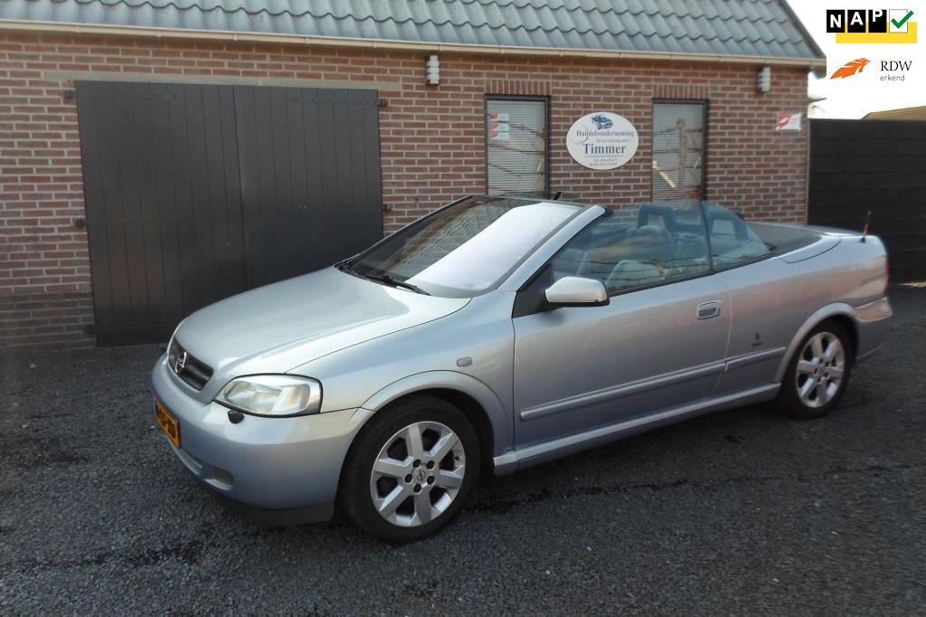 Opel Astra Cabriolet occasion - Timmer Auto's
