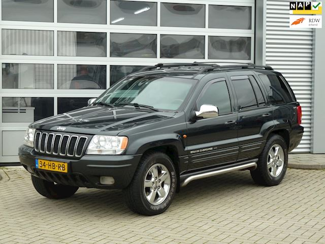 Jeep Grand Cherokee 4.0i Limited bj.2001 LPG | Leder | Trekhaak.