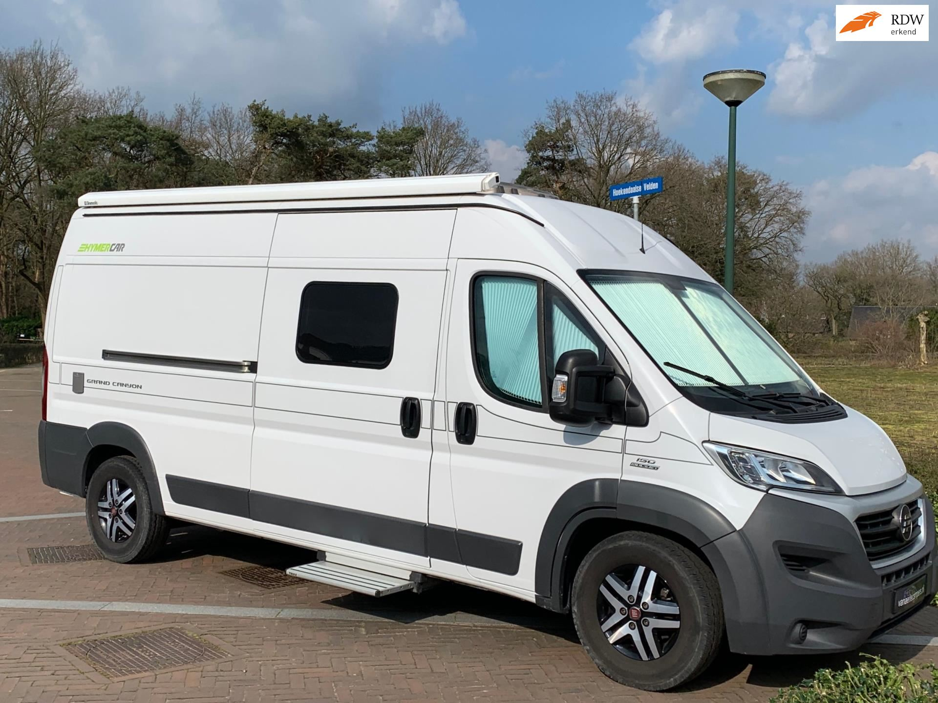 Hymer Hymercar Luxe  Grand Canyon-150 Pk-Buscamper-1e Eig-2016-Zgan occasion - Eric van Aerle Auto's