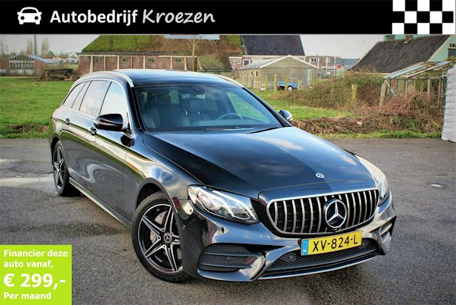 Mercedes-Benz E-klasse Estate 220 d Business Solution AMG ///AMG Pakket * Pano * Wide Screen * Prijs incl BTW
