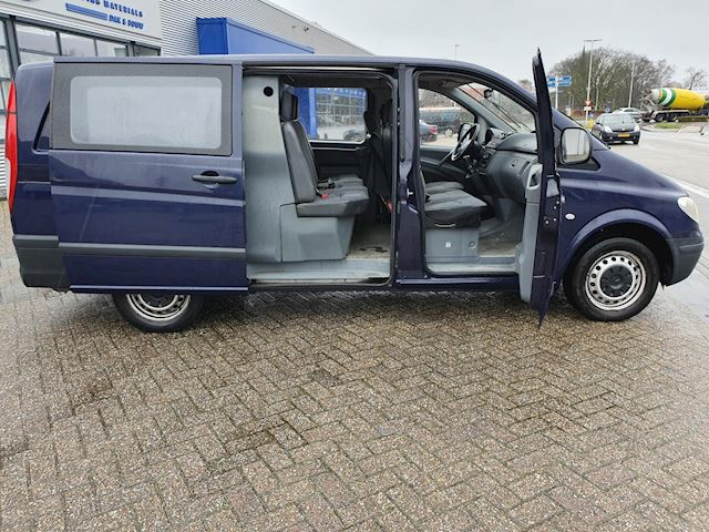 Mercedes-Benz Vito 109 CDI 320 Lang DC Ambiente standaard DUBBEL CABINE 6PERSOONS DIVERSE OPTIES