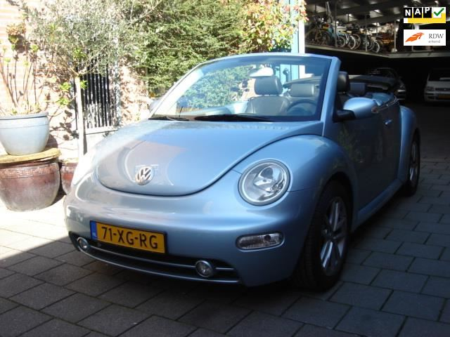 Volkswagen New Beetle Cabriolet occasion - P. Janse Auto's