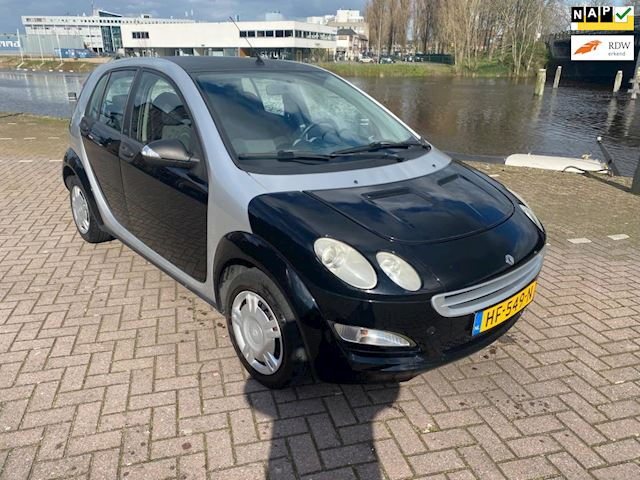 Smart Forfour 1.1 blackbasic mooie perfect rijdende auto apk sept 2020 166dkm stereo elkrt ramen