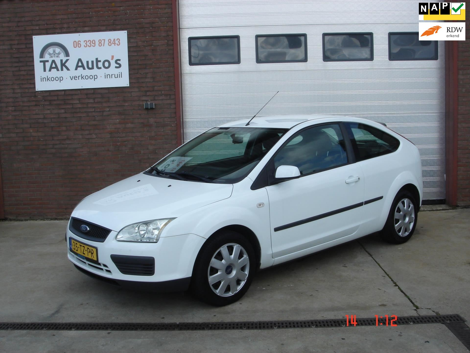 Ford Focus occasion - Tak Auto's