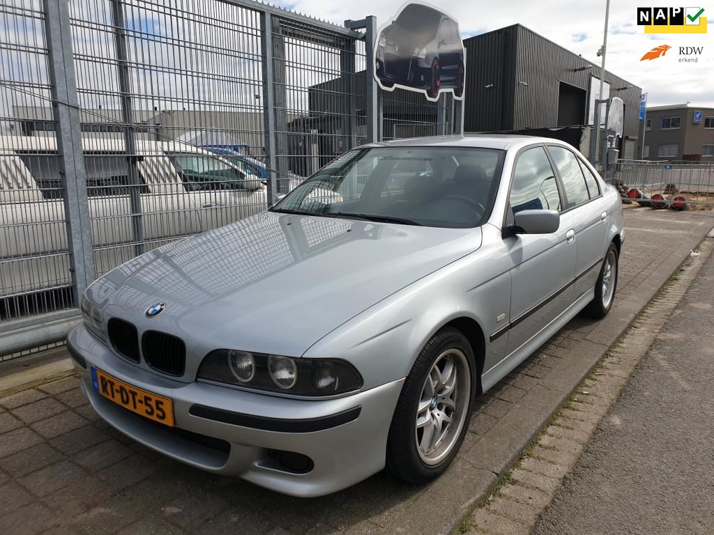 BMW 5-serie occasion - Van Wanrooy Auto's