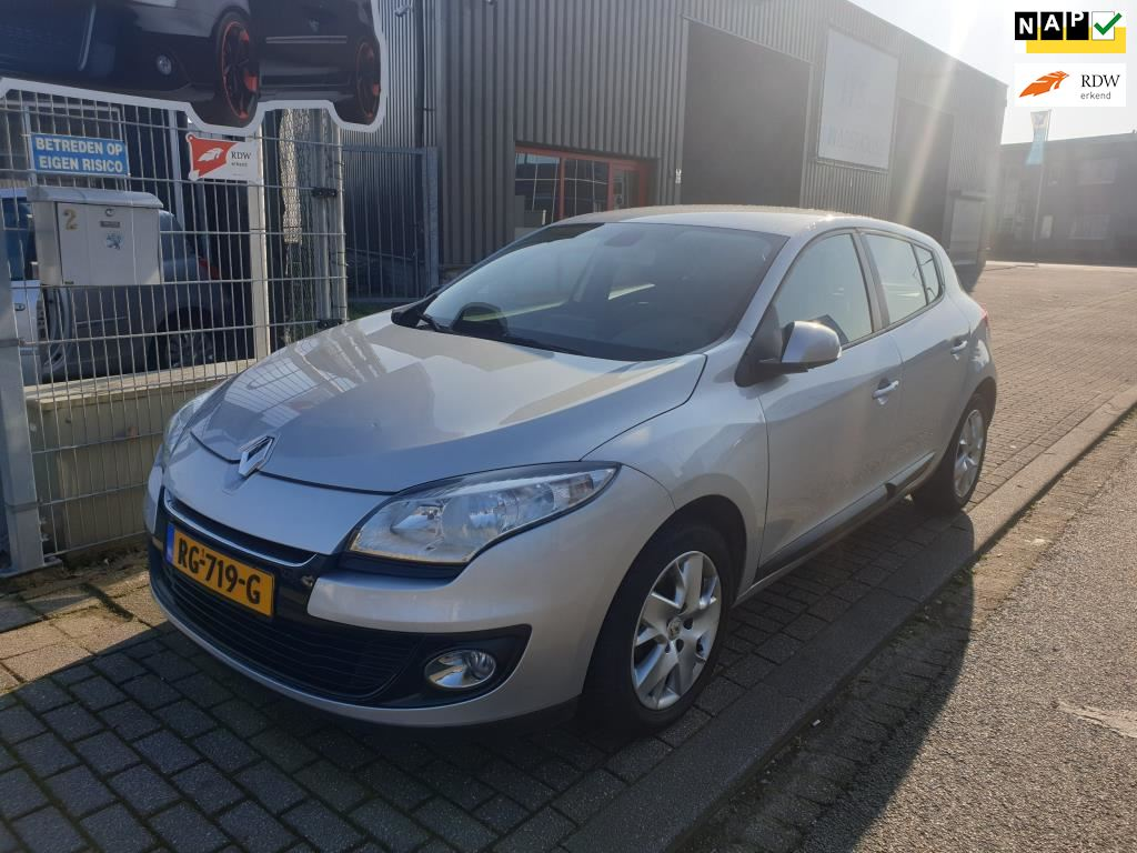 Renault Mégane occasion - Van Wanrooy Auto's