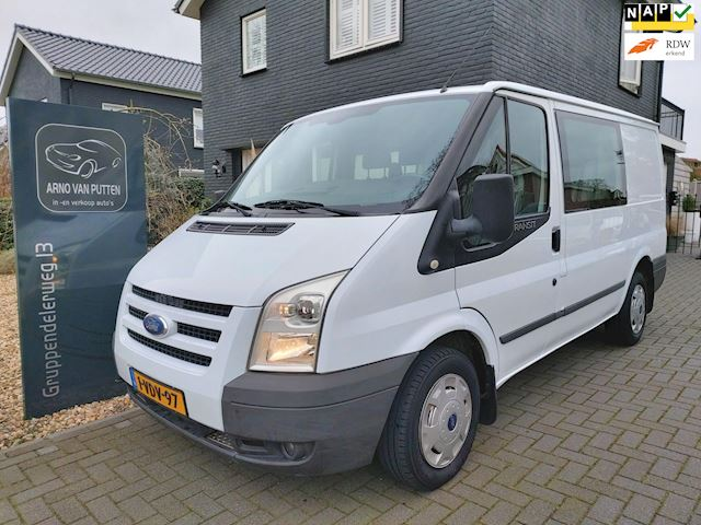 Ford Transit 2.2 TDCI Business Edition  Dubbele Cabine, Airco, Cruise control
