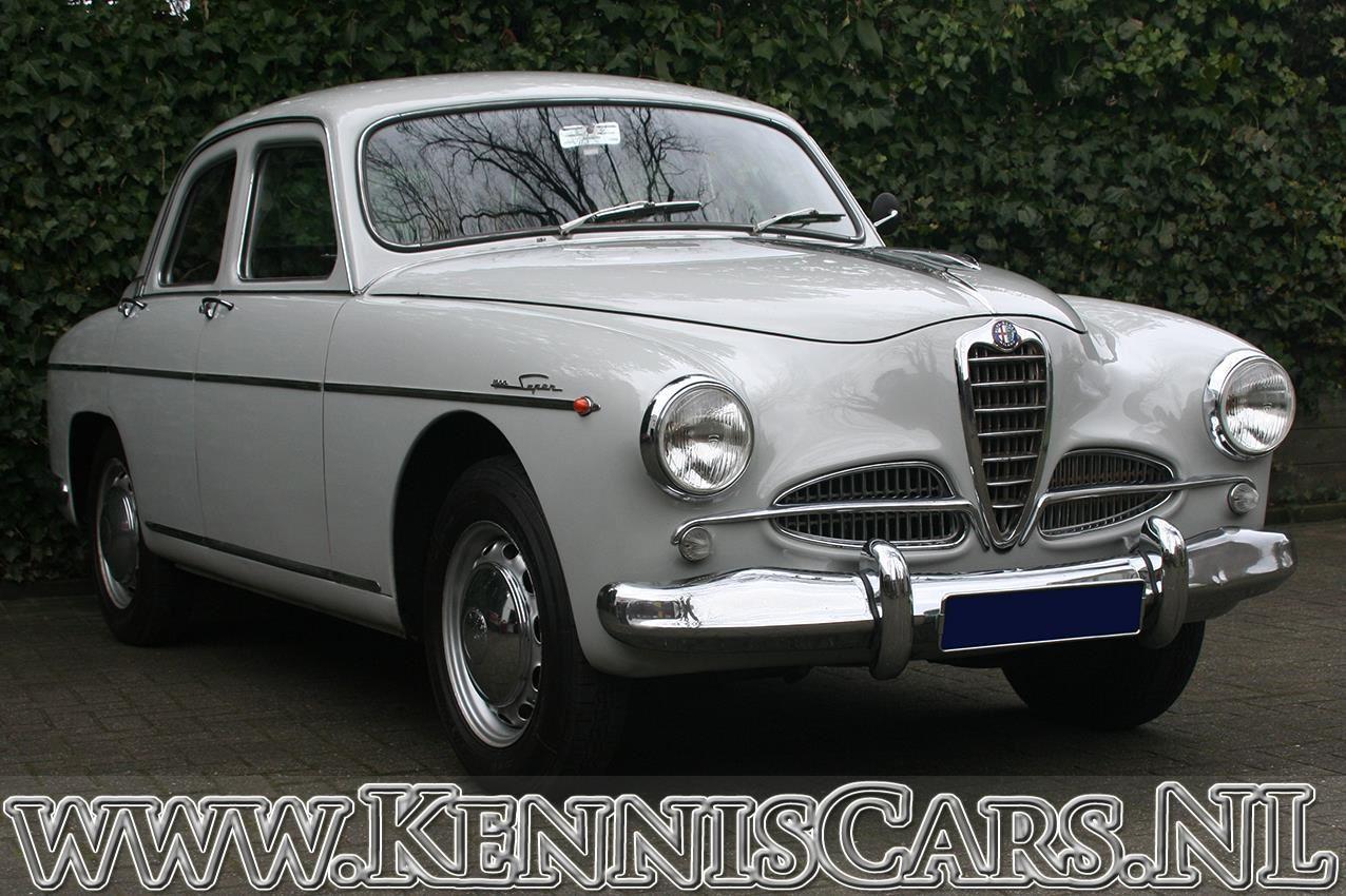 Alfa Romeo 1958 1900 Super occasion - KennisCars.nl