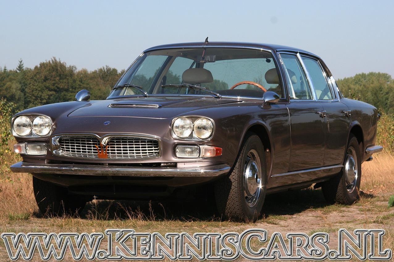 Maserati 1967 Quattroporte occasion - KennisCars.nl